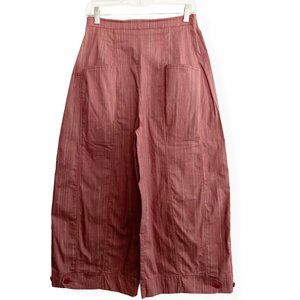Lilith   Parachute Palazzo Red Trouser Wide Leg